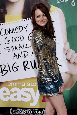 Emma Stone Easy A Premiered Pics