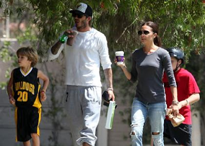 David And Victoria Beckham,English footballer
