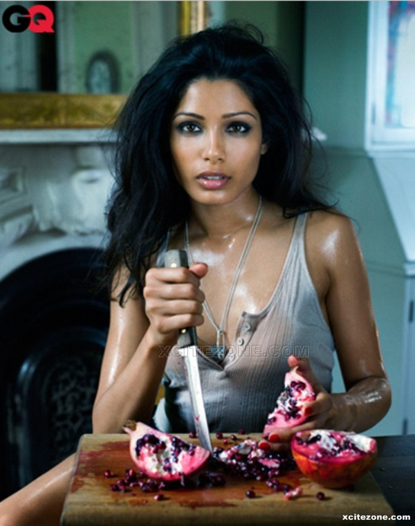 Freida Pinto in GQ Magazine Photo Shoot