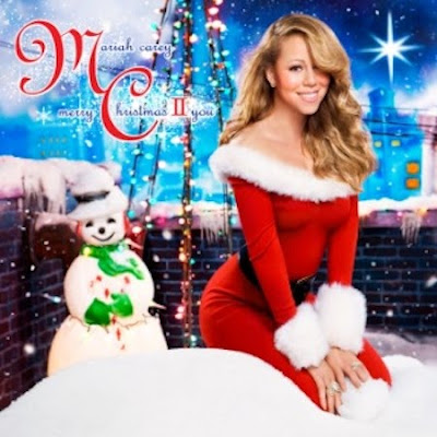 Mariah Carey Unwraps Christmas Album Cover