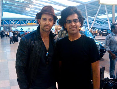 Hrithik meet to His Fans photoshoot
