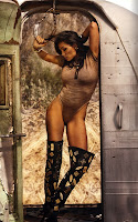 Rosario Dawson Steamy GQ Germany Shoot