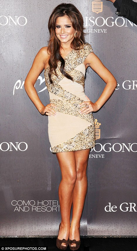 Cheryl Cole Launches New De Grisogono Jewellery Party Pics