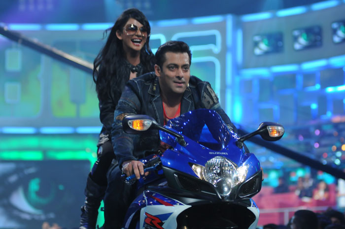 Salman Khan at The Launch Episode of Bigg Boss 4