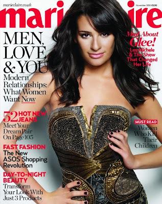 lea michele gq magazine. Lea Michele Marie Claire