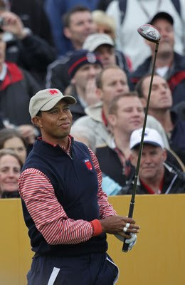 Tiger Woods Ryder Cup 2010 Photos