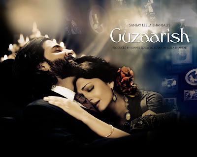 Guzaarish ,Bollywood movie,  Hrithik, Aishwarya