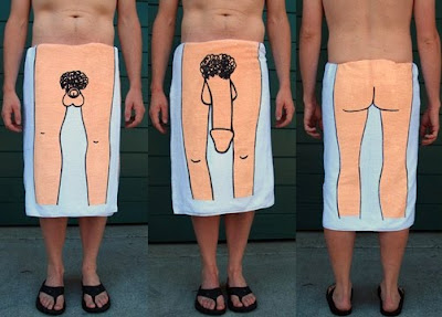 Top 10 Weirdest Gift - Dick Towel