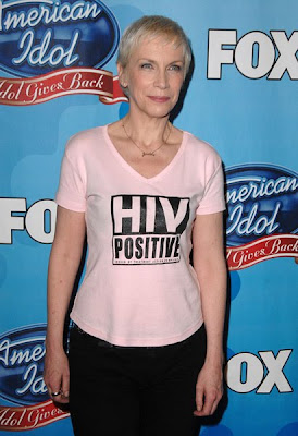 Annie Lennox HIV Positive T-Shirt