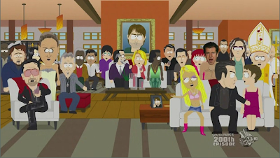 Celebrities slandered by South Park