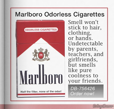 Odorless Cigarettes