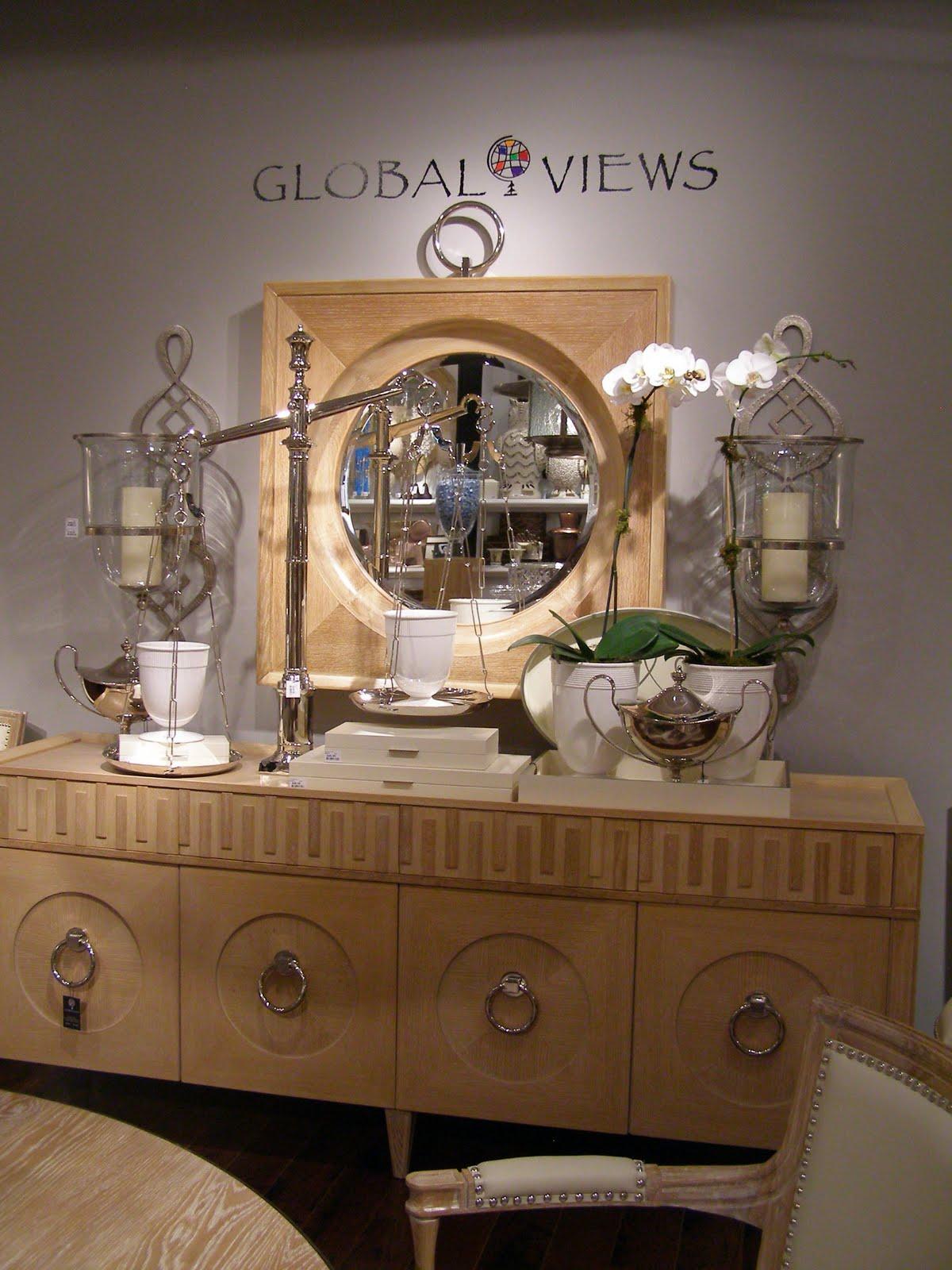 E's Cup of Tea Dallas Market, Global Views Showroom