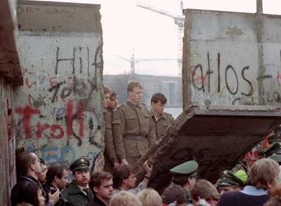 Demolicion Muro de Berlin