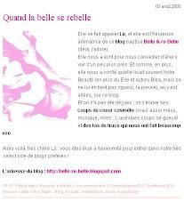 Myself et B&RB sur www.votrebeaute.fr
