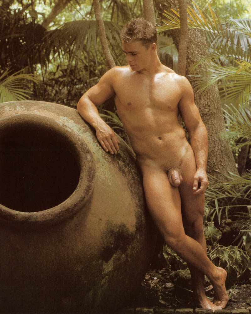 naked art male model