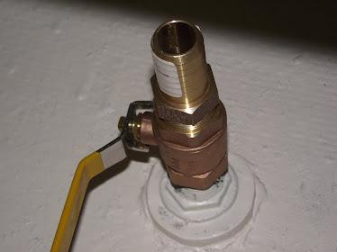 new thru hull valve