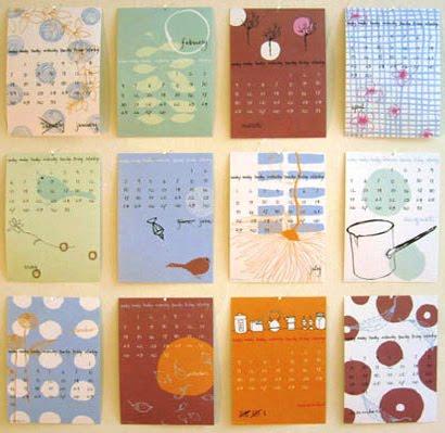Agencia de dise o crearte calendarios dise os - Disenos de calendarios ...