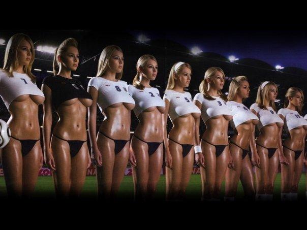 Girls Soccer Team Naked