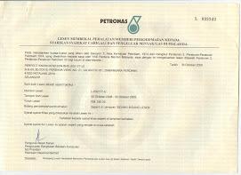 Petronas Registration (since2008)