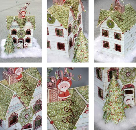 All Scrapbook Steals - The Blog: Home for the Holidays Paper Mache ...