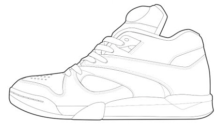 Adidas Shoes Coloring Page The Sneaker Colouring Book is