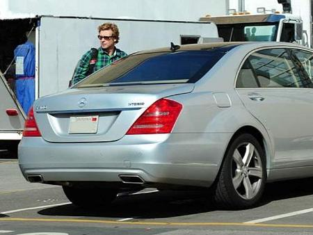 photo of Simon Baker Mercedes - car