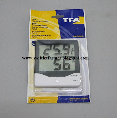 Digital- Hygrometer from Germany