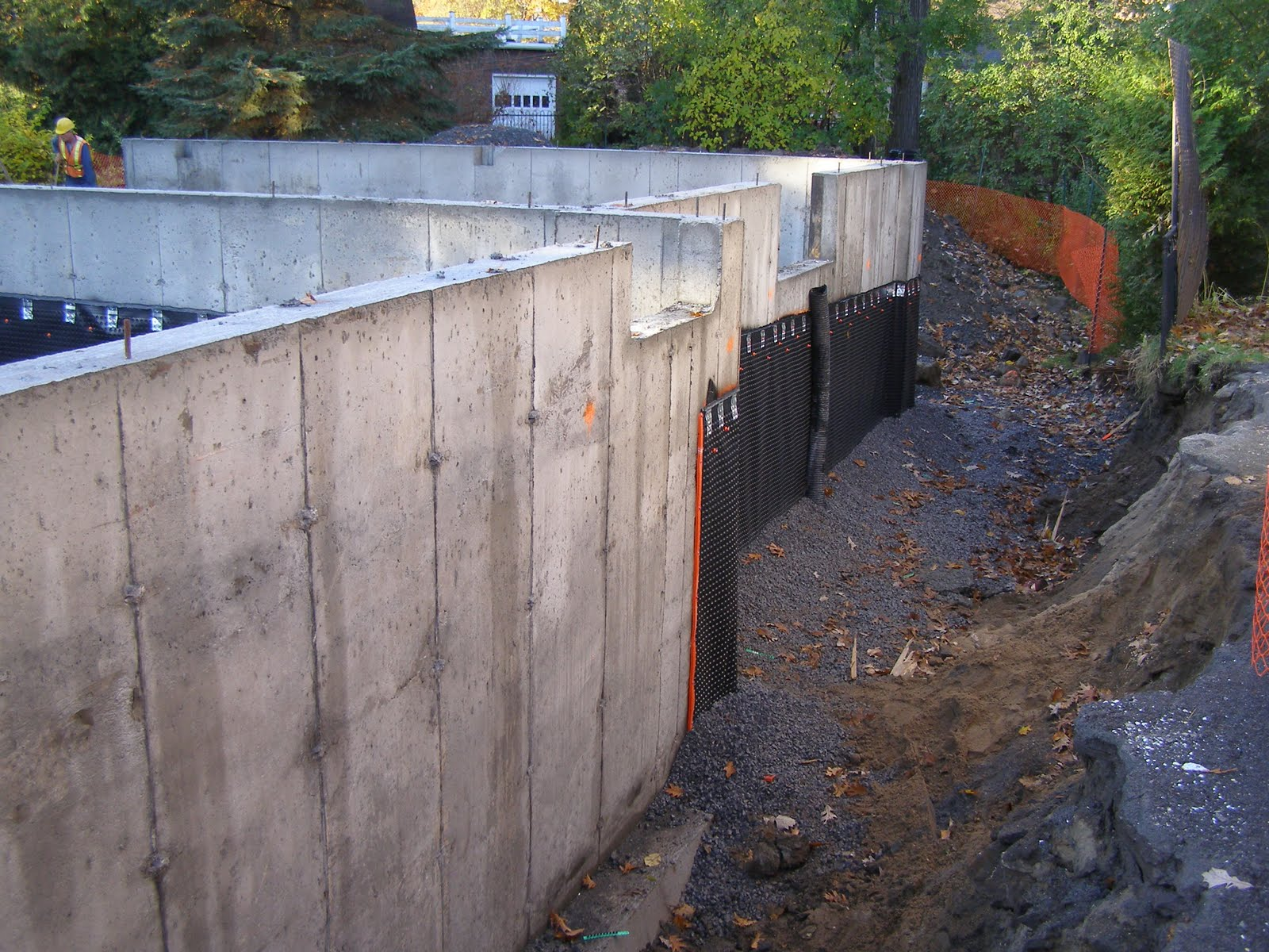Foundation Waterproofing Membrane : Move that bus waterproof membrane applied to foundation