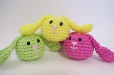 Free Amigurumi Bunny Pattern : Free amigurumi easter patterns for you! curly girl's crochet etc.