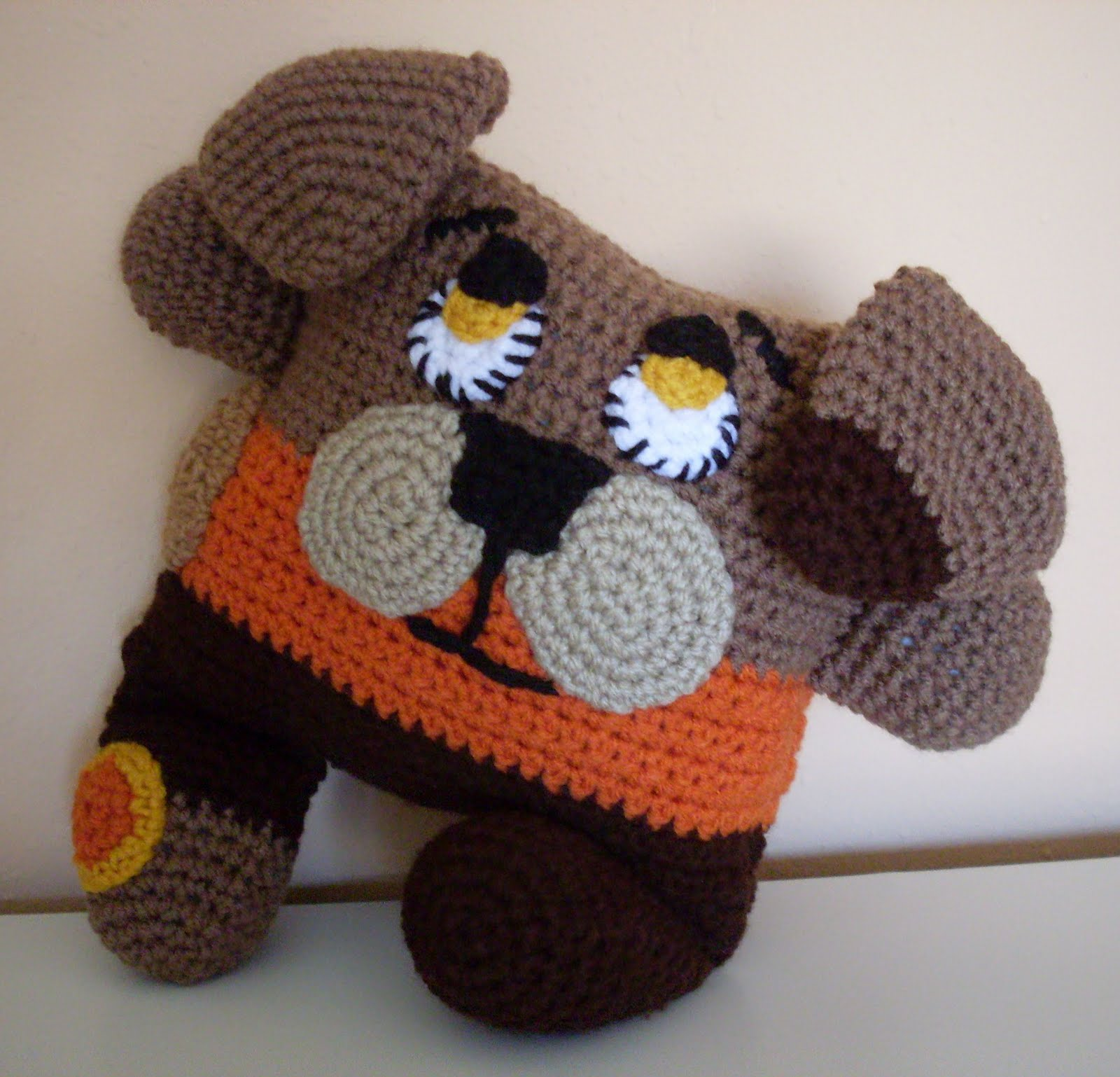 Crochet Patterns Pets : FREE CROCHET PATTERN FOR SMALL DOG - Crochet and Knitting Patterns