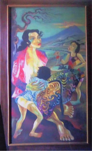 Karya Lukisan Henda Gunawan | Hendra Gunawan's Painting