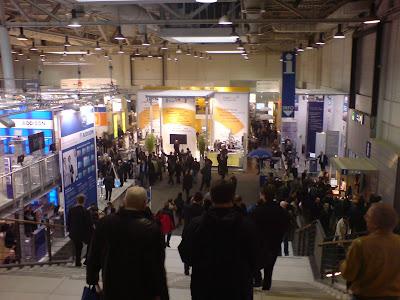 Ingången till hall 3 på CeBIT-mässan i Hannover