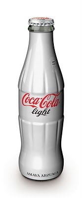 Coca Cola light botella edición limitada Amaya Arzuaga