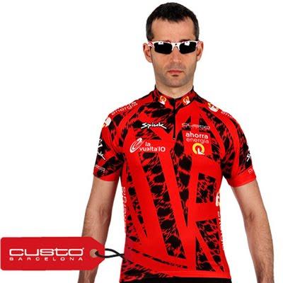 maillot jersey 75 aniversario Vuelta ciclista a España Custo