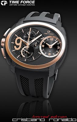 reloj Time Force limited edition Cristiano Ronaldo