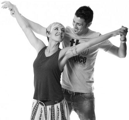 David Villa y Ana Torroja cantan juntos