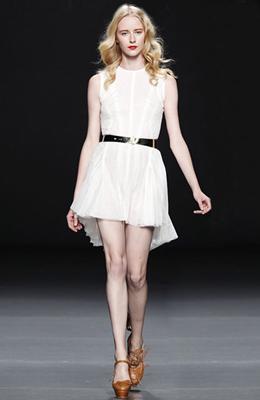 vestido blanco primavera verano