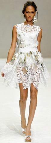 vestido primavera verano Dolce & Gabbana 2011