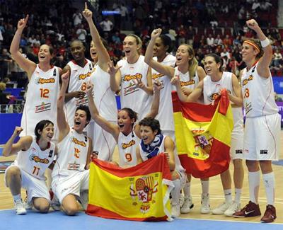 selección española de baloncesto femenina Mundial 2010