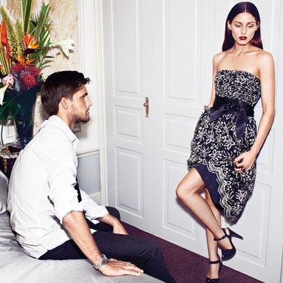 Olivia Palermo y Johannes Huebl imagen de Mango