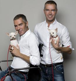 Dean & Dan with Dixy Accesorios para perros Dsquared en Yoox