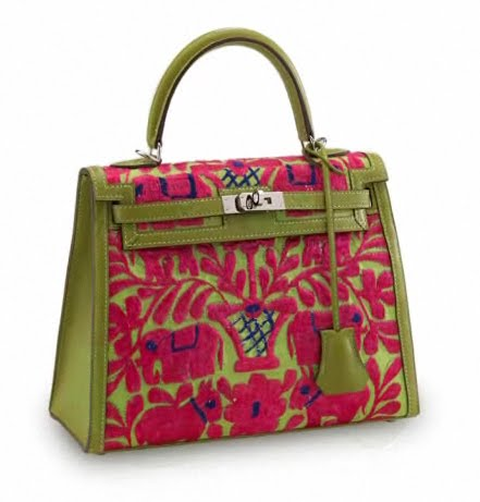 hermes bag pattern