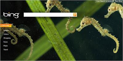 Página principal de Bing