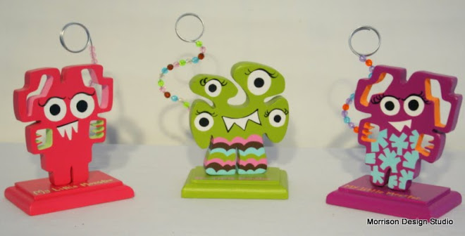 My Little Monster Picture Holders