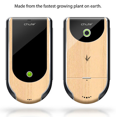 Chute Smartphone Made By Wood