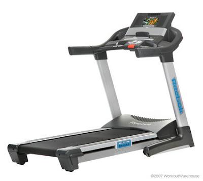 Reebok - 9500 ES Treadmill with 7