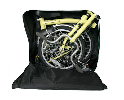 The Brompton Bicycle To Be Carried to Anywhere