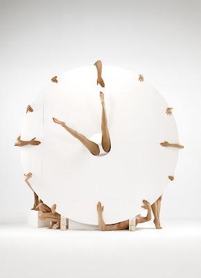 Human Clock by Romain Laurent