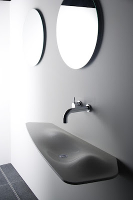 Dune Corian Wash Basins from Omvivo