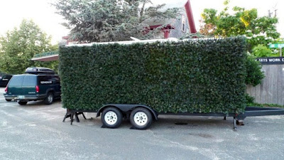 Porta Hedge: Mobile Artificial Hedge